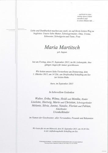 Maria Martitsch