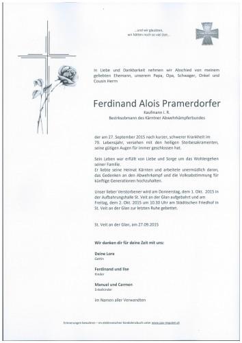 Ferdinand Pramerdorfer