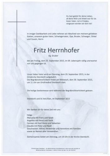 Fritz Herrnhofer