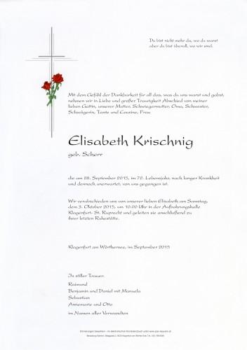 Elisabeth Krischnig