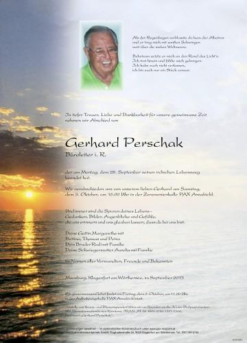 Gerhard Perschak