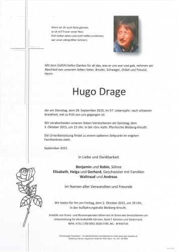 Hugo Drage