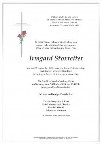 Irmgard Stoxreiter