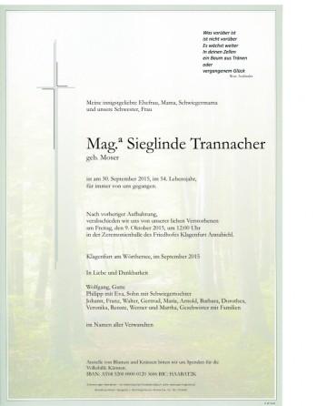 Mag.  Sieglinde Trannacher