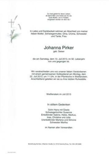 Johanna Pirker