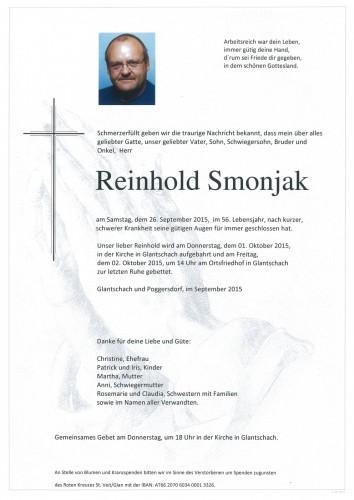 Reinhold Smonjak