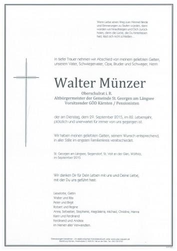 Walter Münzer