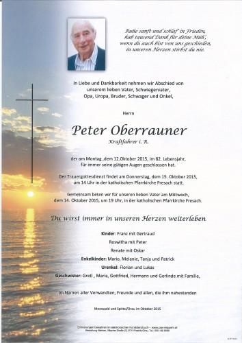 Peter Oberrauner