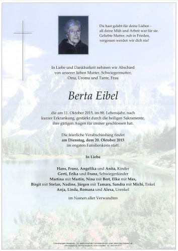 Berta Eibel