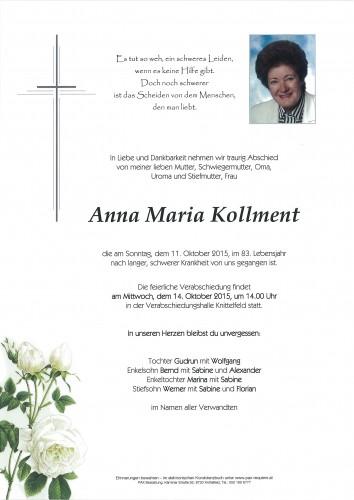 Anna Maria Kollment