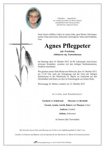 Agnes Pflegpeter