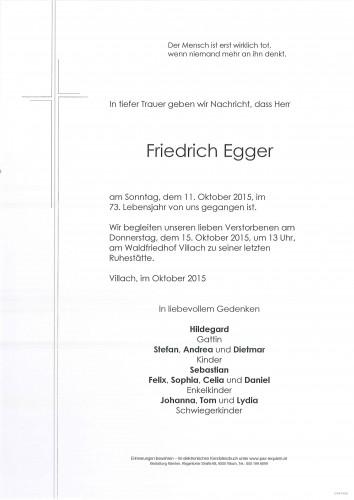 Friedrich Egger
