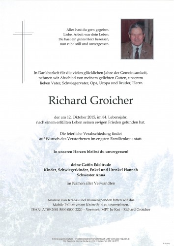 Richard Groicher