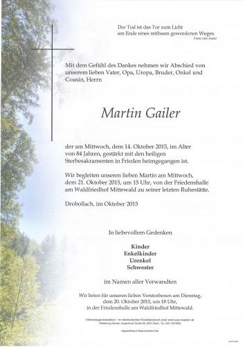 Martin Gailer