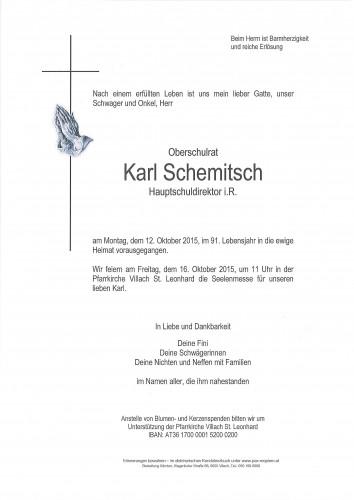 Karl Schemitsch