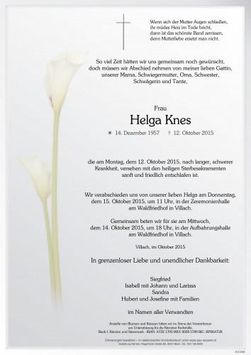 Helga Knes