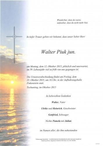 Walter Piuk jun.