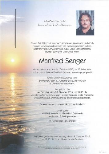 Manfred Senger