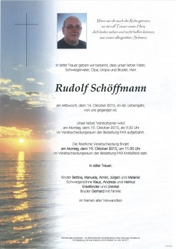 Rudolf Schöffmann