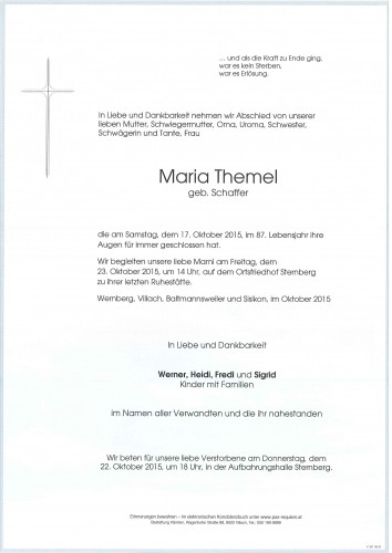Maria Themel