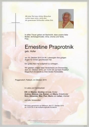 Ernestine Praprotnik