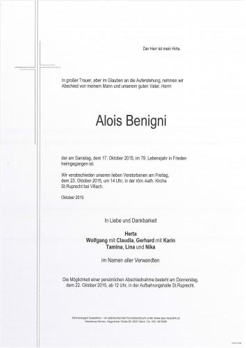 Alois Benigni