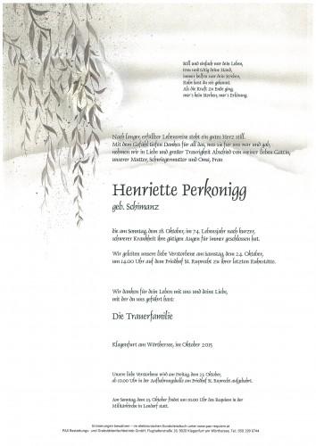 Henriette Perkonigg