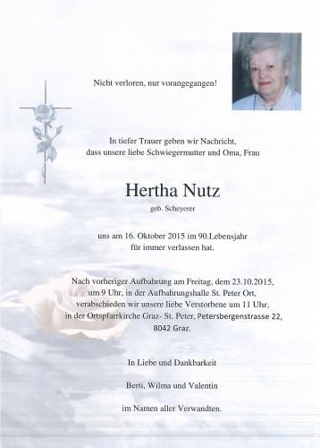 Hertha Nutz