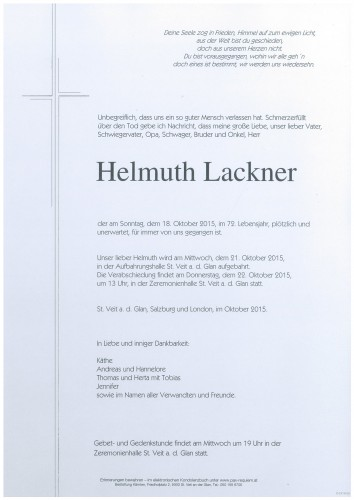 Helmuth Lackner