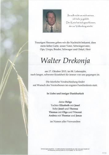 Walter Drekonja