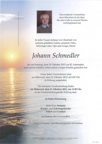 Johann Schmedler