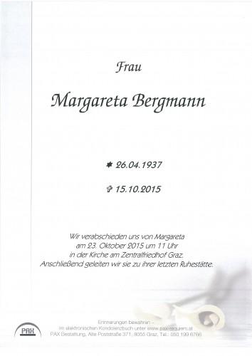 Margareta Bergmann