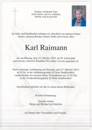 Karl Raimann