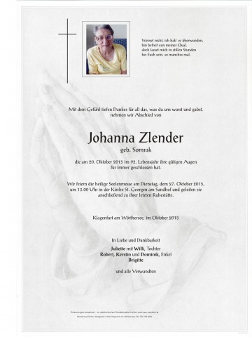 Johanna Zlender