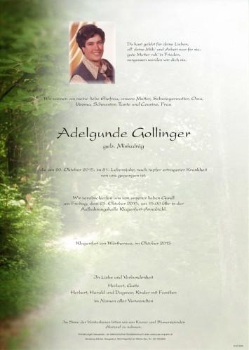 Adelgunde Gollinger