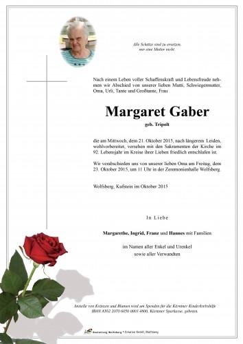Margaret Gaber