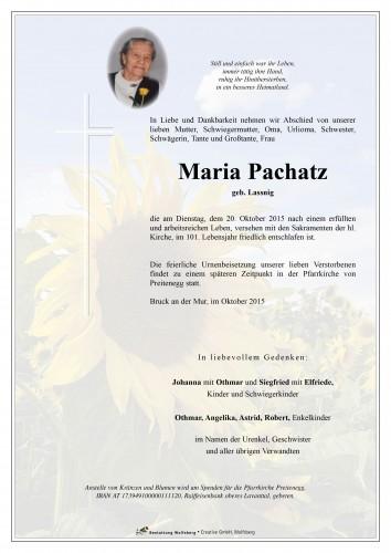 Maria Pachatz
