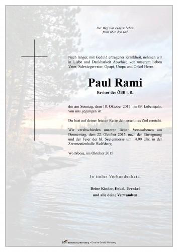 Paul Rami