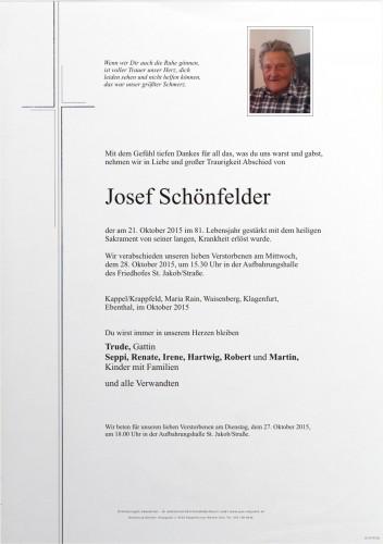 Josef Schönfelder