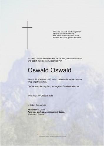 Oswald Oswald