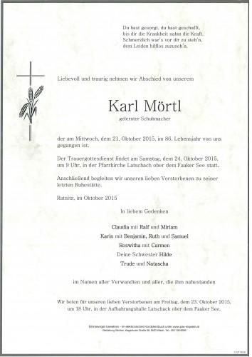 Karl Mörtl