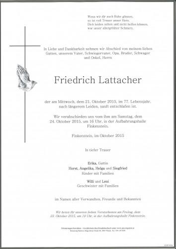 Friedrich Lattacher