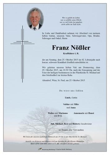Franz Nößler