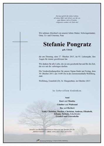 Stefanie Pongratz