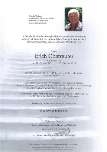 Erich Oberrauter