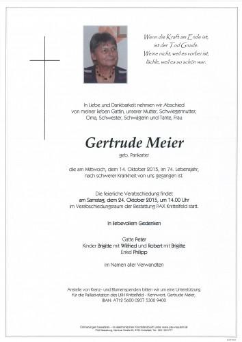 Gertrude Meier