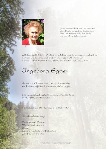 Ingeborg Egger