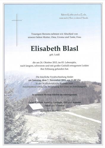 Elisabeth Blasl