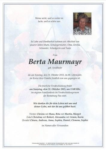 Berta Maurmayr
