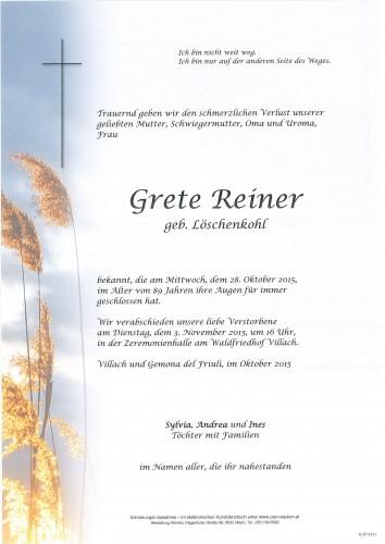 Grete Reiner